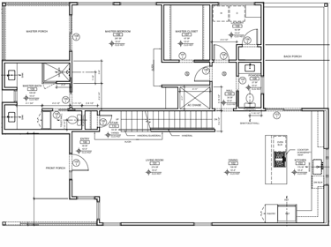 Deloney Floorplan: First Floor