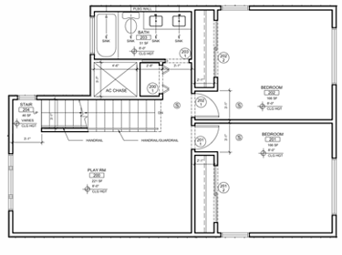 Deloney Floorplan: Second Floor